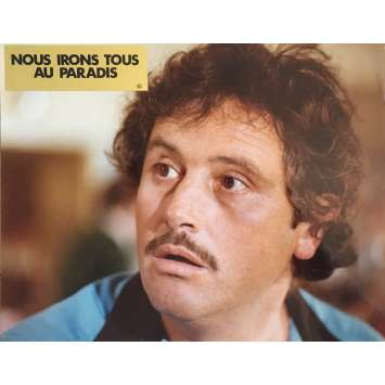 NOUS IRONS TOUS AU PARADIS Photo de film 21x30 cm - N02 1977 - Jean Rochefort, Yves Robert