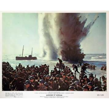 WEEKEND AT DUNKIRK Lobby Card 8x10 in. - N04 1964 - Henri Verneuil, Jean-Paul Belmondo
