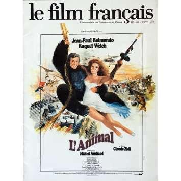 LE FILM FRANÇAIS Magazine 9x12 in. - R1970 - Claude Zidi, Jean-Paul Belmondo