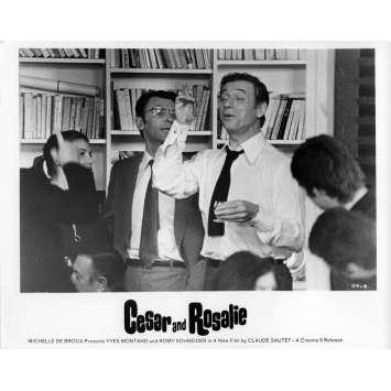 CESAR ET ROSALIE Photo de presse 20x25 cm - N02 1972 - Yves Montand, Claude Sautet