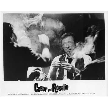 CESAR AND ROSALIE Movie Still 8x10 in. - N01 1972 - Claude Sautet, Yves Montand