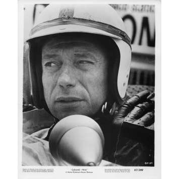 GRAND PRIX Movie Still 8x10 in. - N03 1966 - John Frankenheimer, Yves Montand