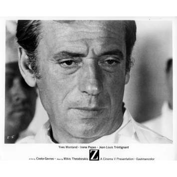 Z Movie Still 8x10 in. - N02 1969 - Costa Gavras, Yves Montand
