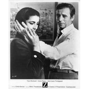 Z Movie Still 8x10 in. - N01 1969 - Costa Gavras, Yves Montand