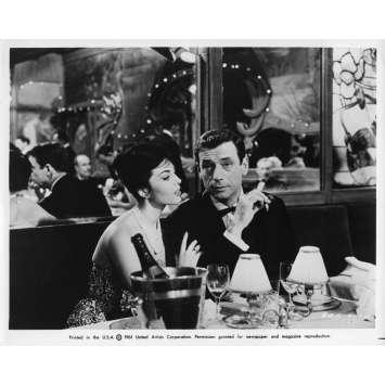 AIMEZ-VOUS BRAHMS Photo de presse 20x25 cm - N04 1961 - Yves Montand, Anatole Titvak