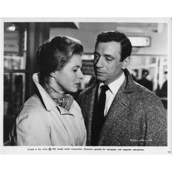 AIMEZ-VOUS BRAHMS Photo de presse 20x25 cm - N03 1961 - Yves Montand, Anatole Titvak