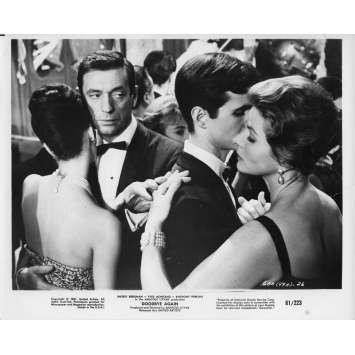 AIMEZ-VOUS BRAHMS Photo de presse 20x25 cm - N02 1961 - Yves Montand, Anatole Titvak