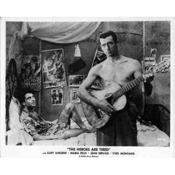 HEROES AND SINNERS Movie Still 8x10 in. - N04 1955 - Yves Ciampi, Yves Montand