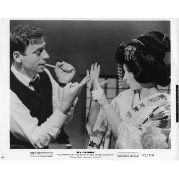 MY GEISHA Movie Still 8x10 in. - N04 1962 - Jack Cardiff, Yves Montand