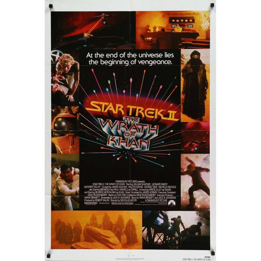 STAR TREK 2 Affiche de film 69x104 - 1982 - Leonard Nimoy