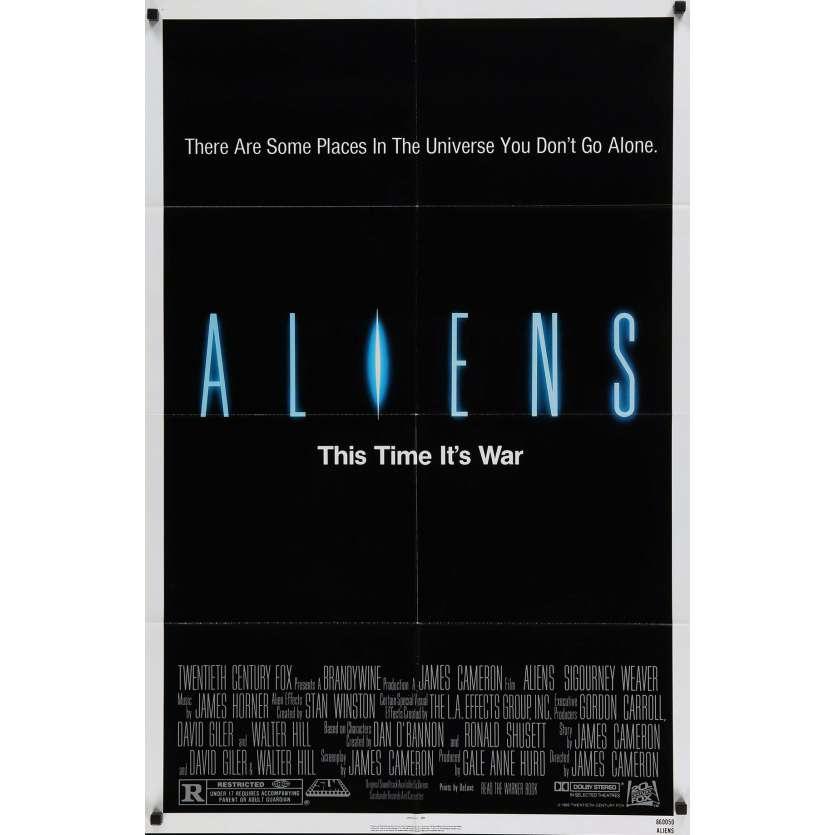 ALIENS James Cameron Affiche du film USA 1986
