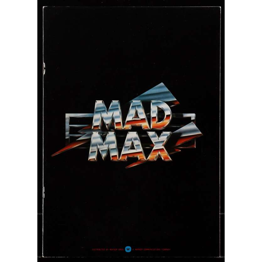 MAD MAX programme Japonais '79 Original Japanese Program