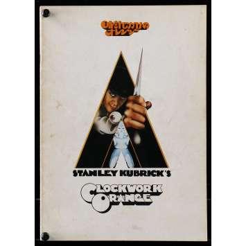 CLOCKWORK ORANGE Japanese Program R79, Stanley Kubrick, Malcom McDowell