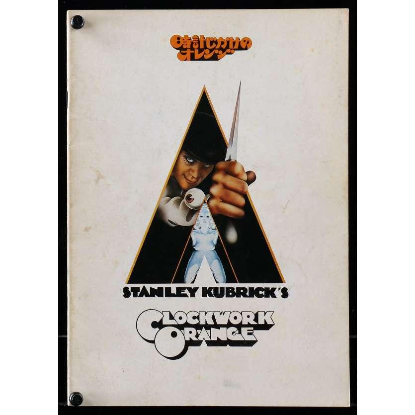 ORANGE MECANIQUE Programme Japonais R79, Stanley Kubrick, Clockwork Program