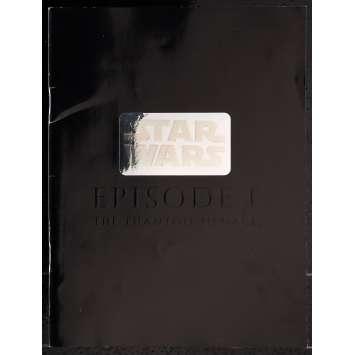 STAR WARS - THE PHANTOM MENACE Japanese Program 9x12 - 2001 - George Lucas, Nathalie Portman