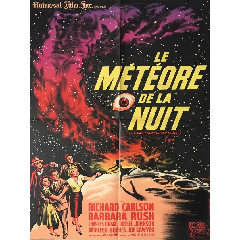 LE METEORE DE LA NUIT Affiche de film 60x80 cm - 1953 - Richard Carlson, Jack Arnold