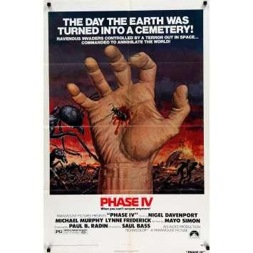 PHASE 4 Affiche de film 69x101 cm - 1974 - Nigel Davenport, Saul Bass