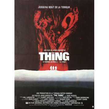 THE THING Affiche de film 40x60 cm - 1982 - Kurt Russel, John Carpenter