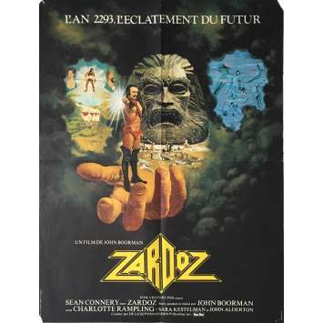ZARDOZ Movie Poster 23x32 in. - 1974 - John Boorman, Sean Connery