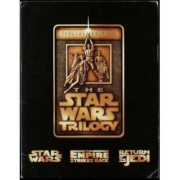 STAR WARS TRILOGY Dossier de presse 20x25 cm - N09 1997 - Harrison Ford, Carrie Fisher, George Lucas