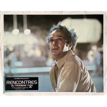 CLOSE ENCOUNTERS OF THE THIRD KIND Lobby Card 9x12 in. - 1977 - Steven Spielberg, Richard Dreyfuss