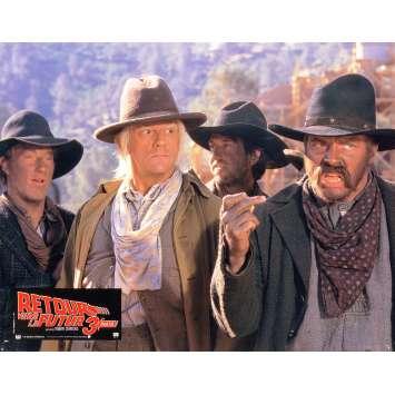 RETOUR VERS LE FUTUR 3 Photo de film 21x30 cm - N06 1990 - Michael J. Fox, Robert Zemeckis