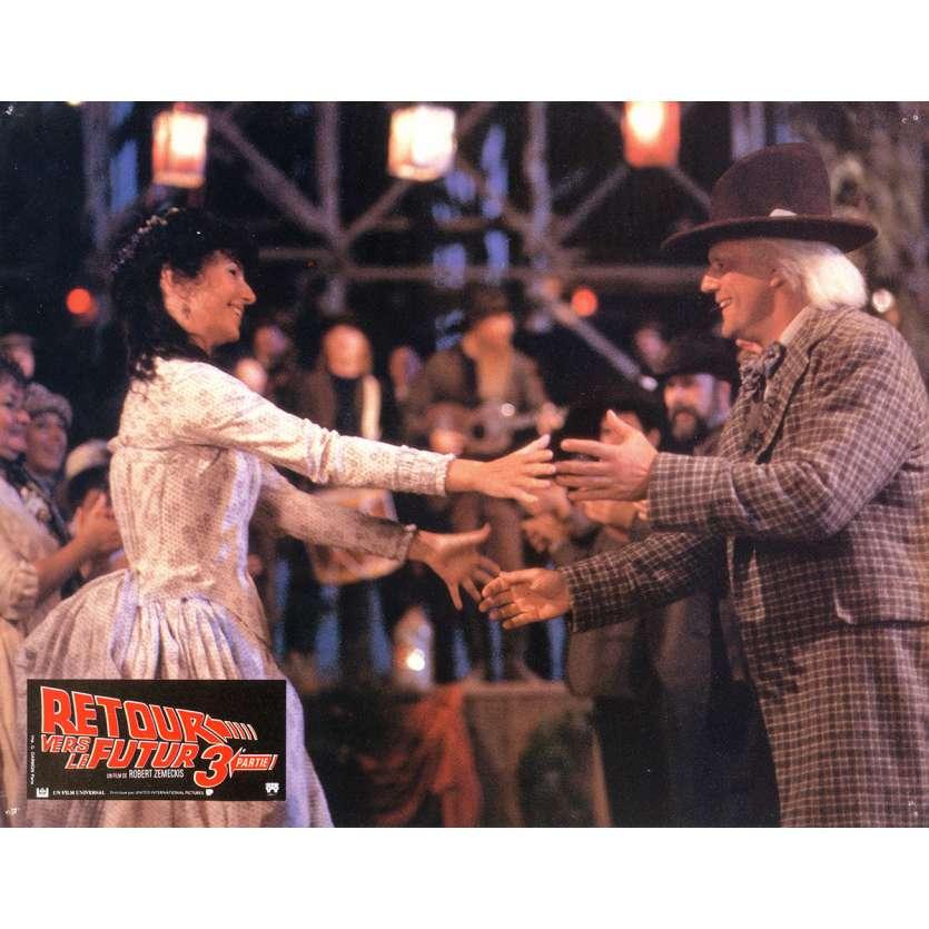 RETOUR VERS LE FUTUR 3 Photo de film 21x30 cm - N04 1990 - Michael J. Fox, Robert Zemeckis