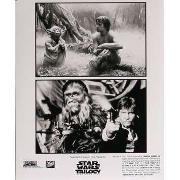 STAR WARS TRILOGY Movie Still 8x10 in. - N07 1997 - George Lucas, Harrison Ford, Carrie Fisher