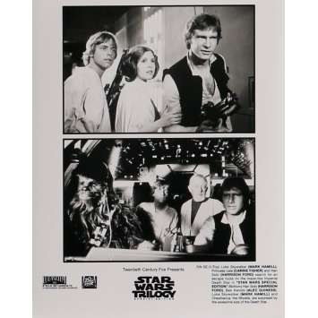 STAR WARS TRILOGY Movie Still 8x10 in. - N05 1997 - George Lucas, Harrison Ford, Carrie Fisher