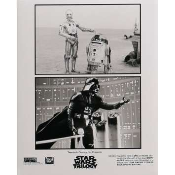 STAR WARS TRILOGY Movie Still 8x10 in. - N03 1997 - George Lucas, Harrison Ford, Carrie Fisher