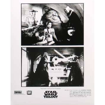 STAR WARS TRILOGY Movie Still 8x10 in. - N02 1997 - George Lucas, Harrison Ford, Carrie Fisher
