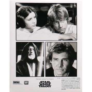 STAR WARS TRILOGY Movie Still 9x12 in. - N01 1997 - George Lucas, Harrison Ford, Carrie Fisher
