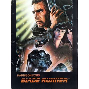 BLADE RUNNER Presskit Cover 9x12 in. - 1982 - Ridley Scott, Harrison Ford