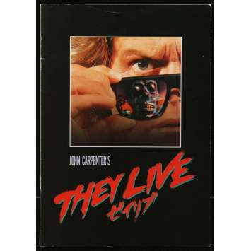 THEY LIVE Program 8x10 in. - 1988 - John Carpenter, Roddy Piper