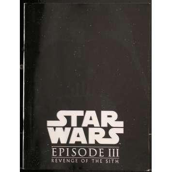 STAR WARS - LA REVANCHE DES SITHS Programme 20x25 cm - 2003 - Harrison Ford, George Lucas
