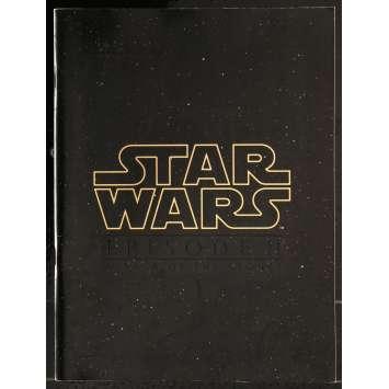 STAR WARS - ATTACK OF THE CLONES Program 8x10 in. - 2002 - George Lucas, Natalie Portman