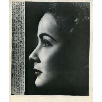 ALIDA VALLI Photo de presse Américaine Originale 20x25 cm - 1947