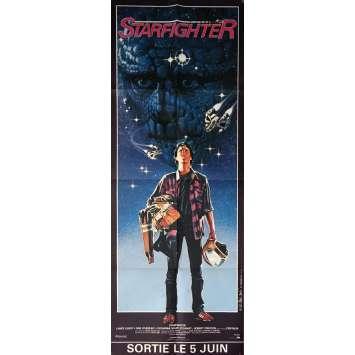 STARFIGHTER Affiche de film 60x160 cm - 1984 - Lance Guest, Nick Castle