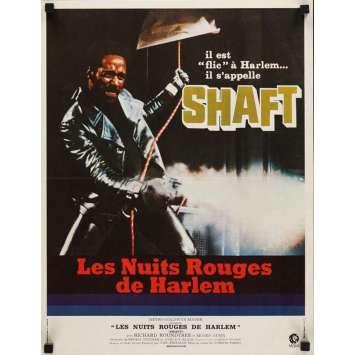 Mauvais-genres.com SHAFT Richard Roundtree Affiche française du film 1971 Affiches cinéma