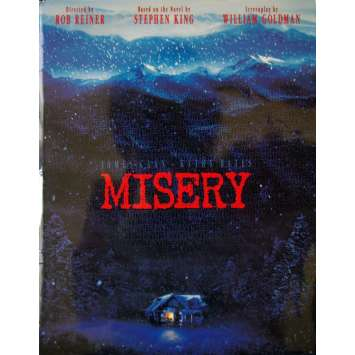 MISERY Dossier de presse avec photos USA Stephen King