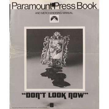 Mauvais-genres.com NE VOUS RETOURNEZ PAS Donald Sutherland Dossier de presse USA 1974 Dossiers de presse