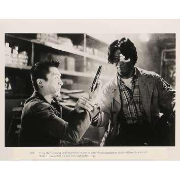 A TOUTE EPREUVE Photo de presse 20x25 cm - N06 1992 - Chow Yun-Fat, John Woo