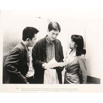 A TOUTE EPREUVE Photo de presse 20x25 cm - N05 1992 - Chow Yun-Fat, John Woo