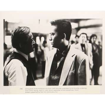 A TOUTE EPREUVE Photo de presse 20x25 cm - N04 1992 - Chow Yun-Fat, John Woo