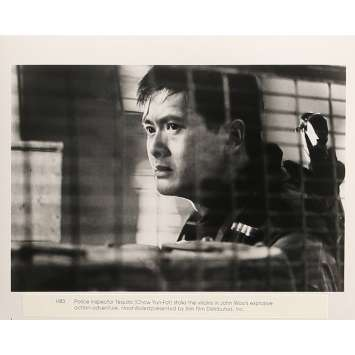 HARD BOILED Movie Still 8x10 in. - N03 1992 - John Woo, Chow Yun-Fat