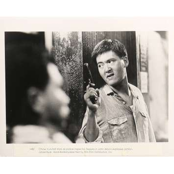 A TOUTE EPREUVE Photo de presse 20x25 cm - N02 1992 - Chow Yun-Fat, John Woo