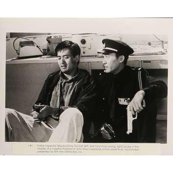 A TOUTE EPREUVE Photo de presse 20x25 cm - N01 1992 - Chow Yun-Fat, John Woo