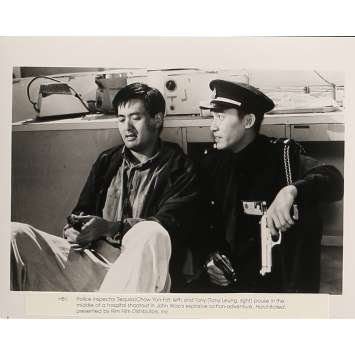 HARD BOILED Movie Still 8x10 in. - N01 1992 - John Woo, Chow Yun-Fat