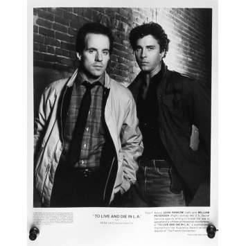 TO LIVE AND DIE IN LA Movie Still 8x10 in. - N07 1984 - William Friedkin, Willem Dafoe