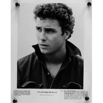 POLICE FEDERALE LOS ANGELES Photo de presse 20x25 cm - N03 1984 - Willem Dafoe, William Friedkin